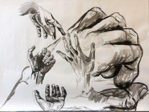compositie van handen