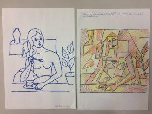 Tekenen en kubisme